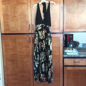 Halter long formal dress